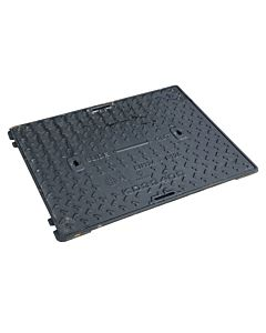 Ductile iron, Slide Out Solid Top Cover & Frame