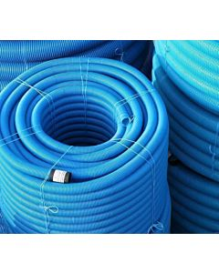 60mm YELLOW GAS DUCT-PERFORATED COIL 50m