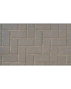 Brett Omega block paving 200x100x50mm - Charcoal