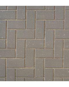 Brett Omega block paving 200x100x60mm - Charcoal